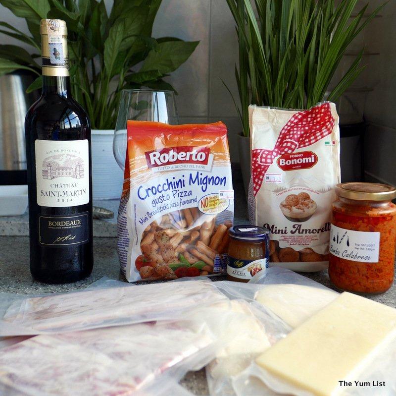 Bottega Mediterranea, food delivery KL