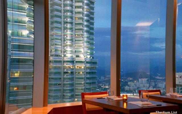Nobu Kuala Lumpur - fabulous views