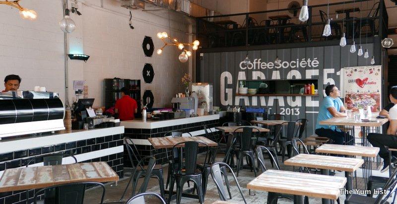 garage 51 malaysia. garage 51 cafe in bandar sunway malaysia