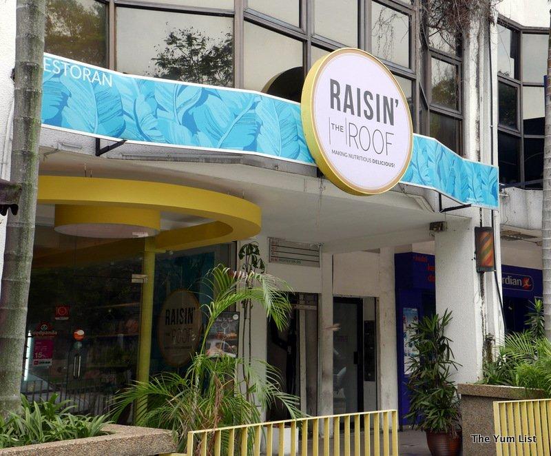 Raisin the Roof, Vegetarian Cafe in Damansara Heights