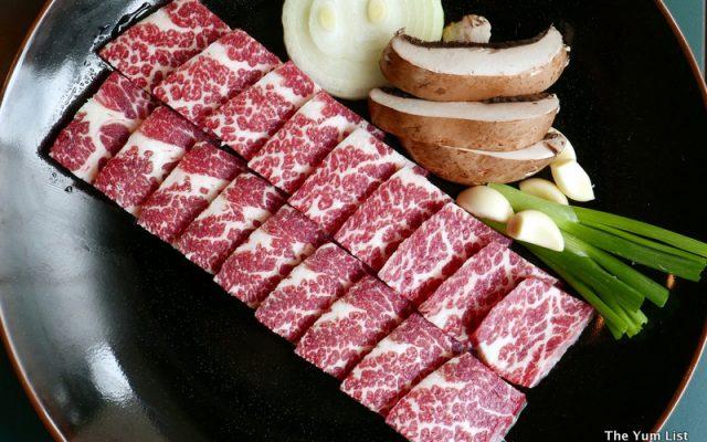 Saeng Dung Sim Gui, Charbroiled Fresh Sirloin