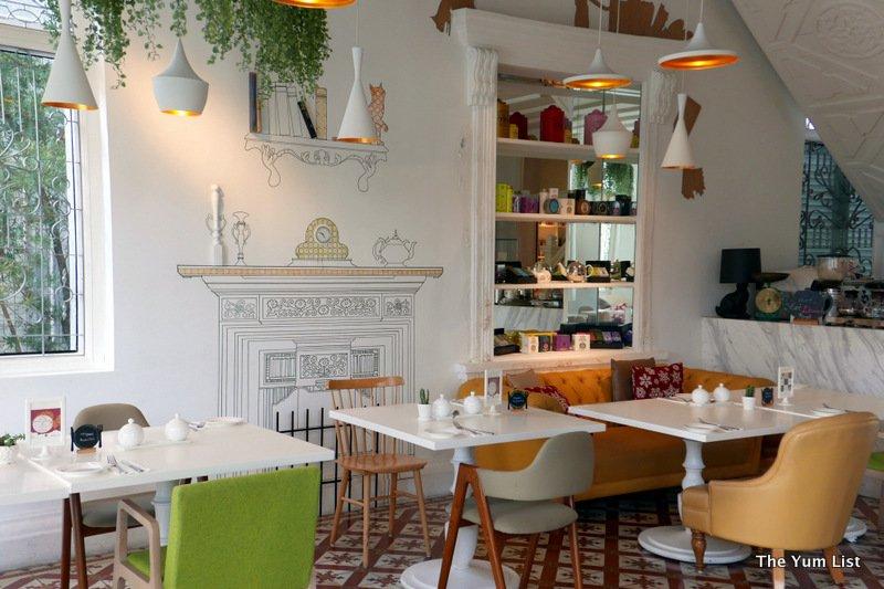 Macalister Mansion Boutique Design Hotel Penang Living Room