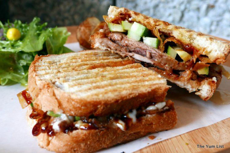 Agak Agak Duck Sandwich