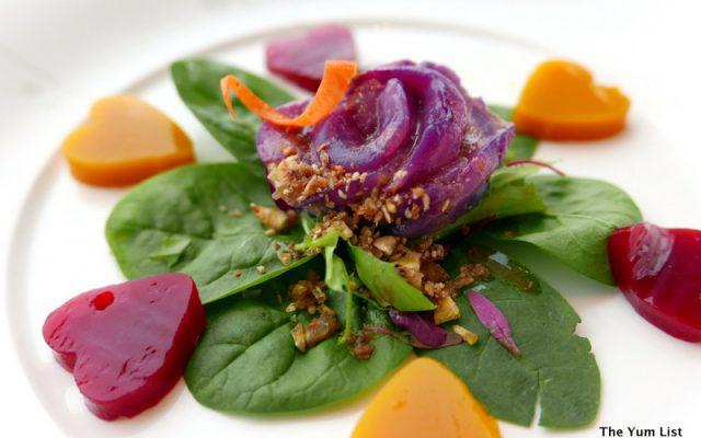 Scallop with Garden Salad