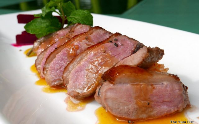 Pan-Roasted Lemongrass Duck Breast