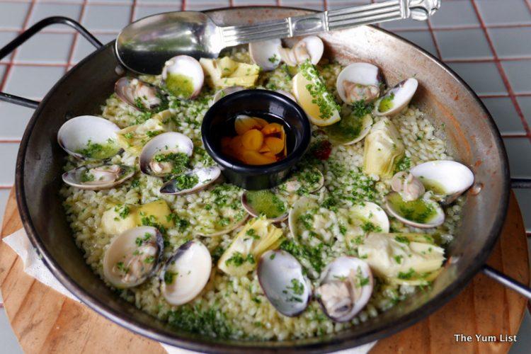 Paella Salsa Verde