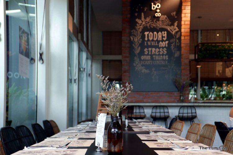 Dining at Botanica + Co, Bangsar South