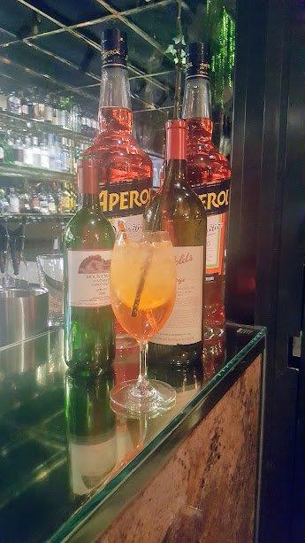 Aperol Spritz at Agostini's