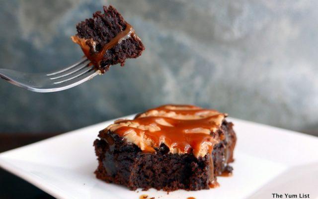 Peanut Butter Brownie Sala