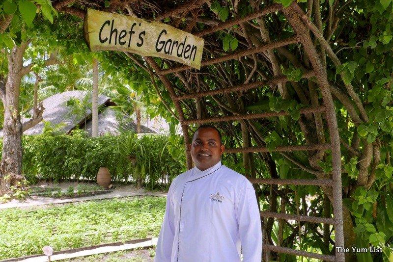 Chef Garden: Maldivian Cooking Class At Naladhu Maldives