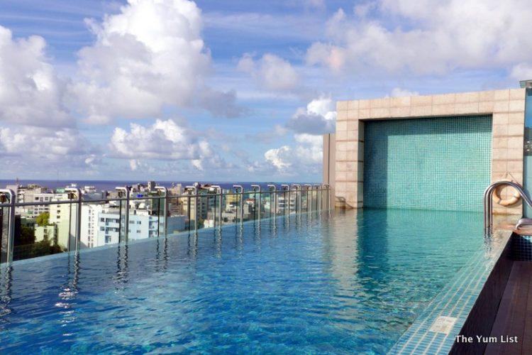Rooftop Pool, Hotel Jen Maldives
