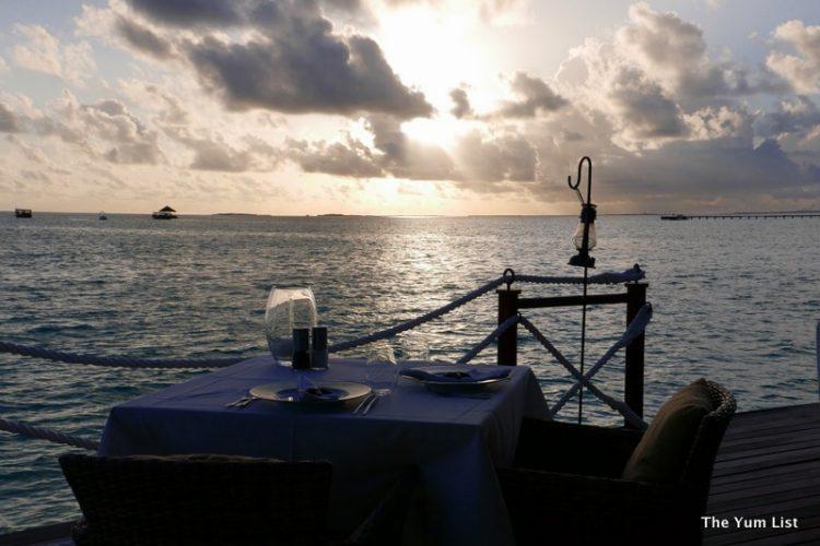 Sunset at Deep End, Maldives
