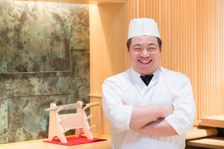 Michelin-starred Chef Terado-san, Sushi Azabu