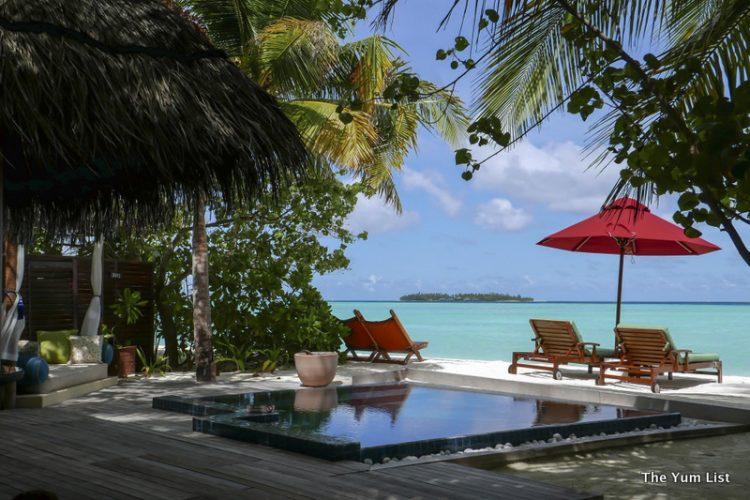 Beach Villa Taj Exotica Resort and Spa