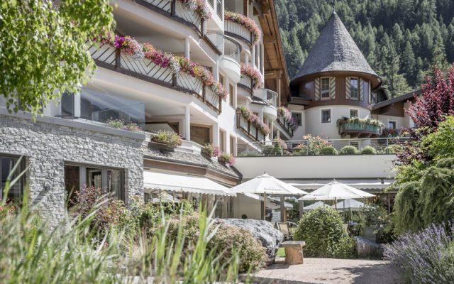 Hotel Das Central, Soelden in the Summer