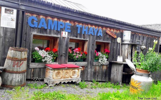 Gampe Thaya, Soelden, Austrian Mountain Food