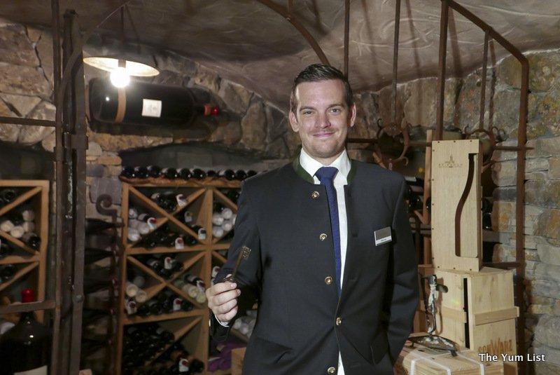 Hotel Das Central Soelden Wine Collection