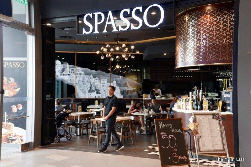 SPASSO Restaurant & Bar, MyTOWN Shopping Mall, Cheras