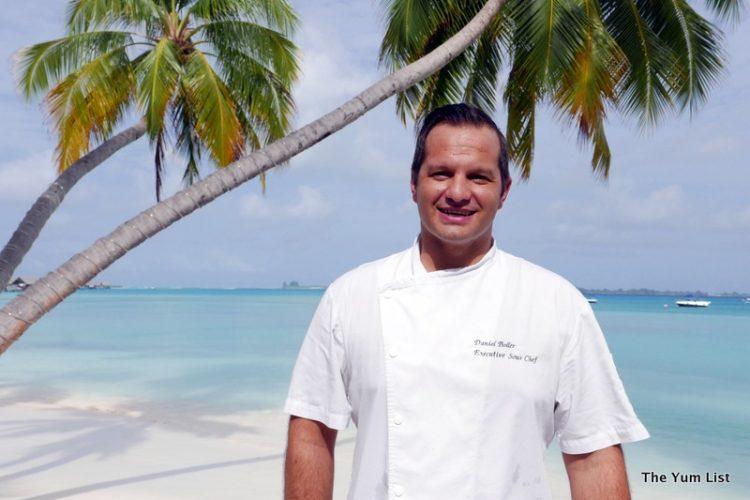 Daniel Boller, Executive Chef, Shangri-La Maldives