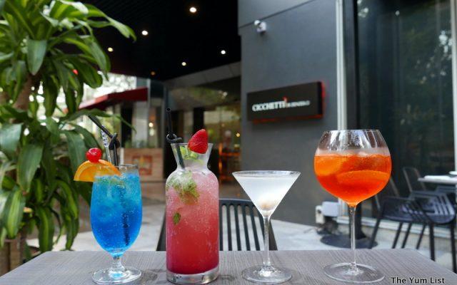 Cocktails at Cicchetti di Zenzero
