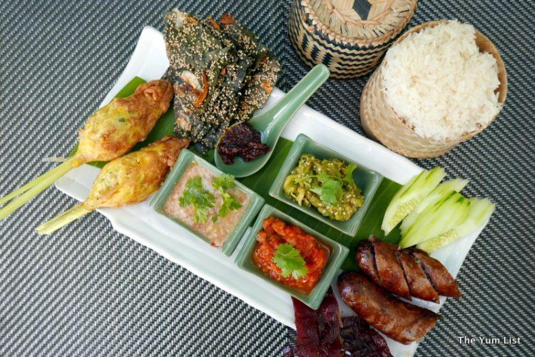 Mixed Laotian Platter