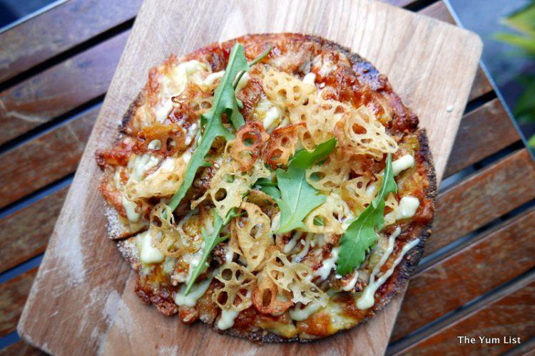 Jidori Yuzu Koshu Miso Pizza