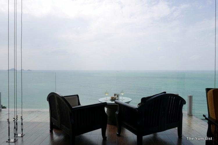 Festive menus at Serene Lobby Bar, InterContinental Samui Baan Talin Ngam Resort