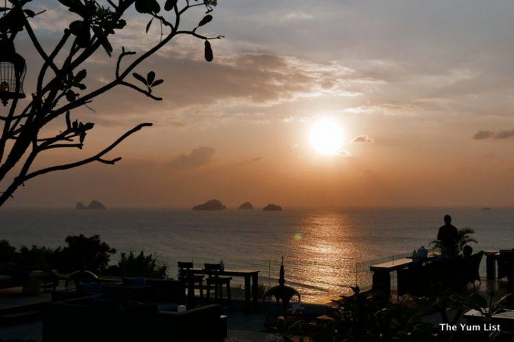 Sunset Over hotel restaurants Koh Samui, InterContinental Samui Baan Talin Ngam Resort