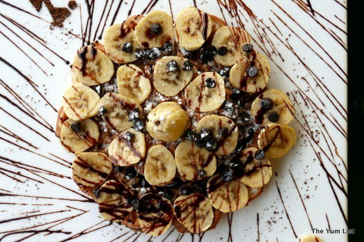 Banana Waffle