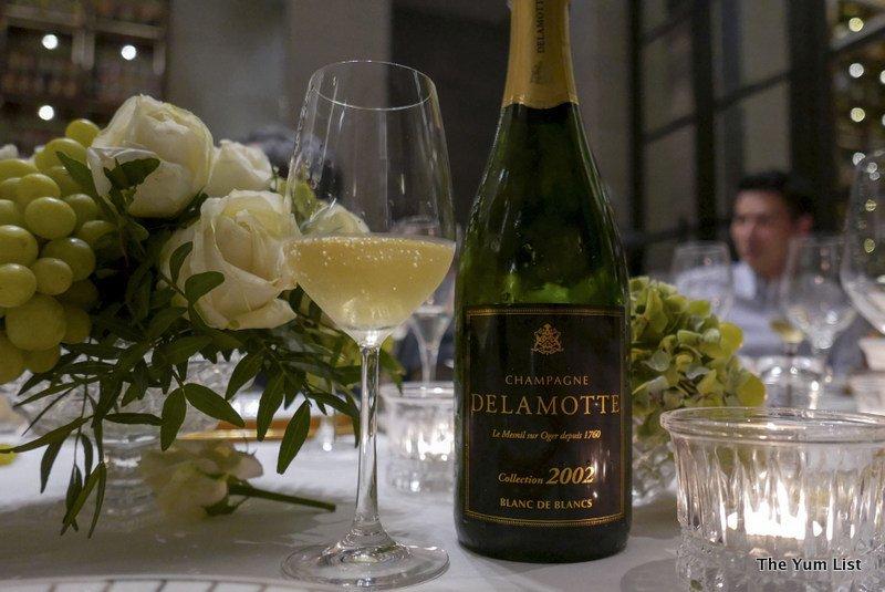 Delamotte Champagne 2002 - The Yum List