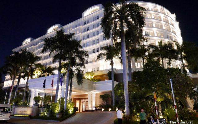 Facade, Park Hyatt Saigon