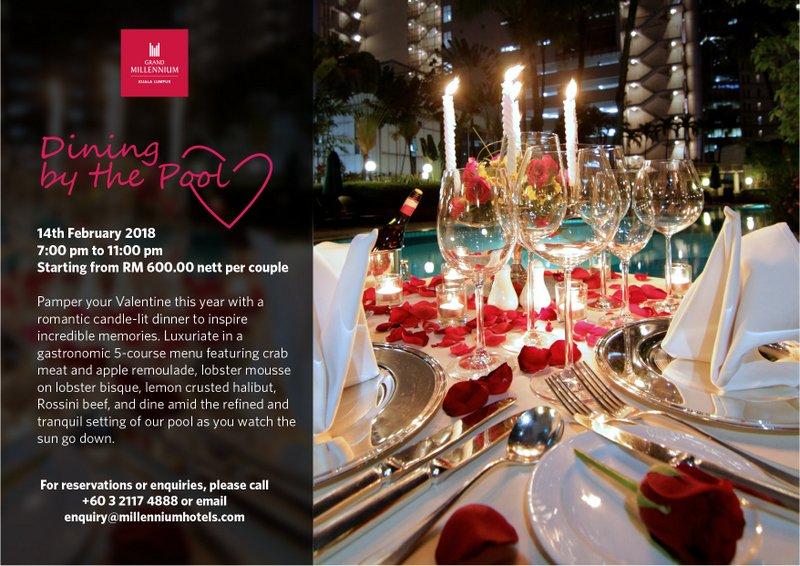 Valentine's Day Kuala Lumpur, Menus and Restaurants