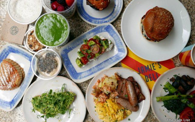 Breakfast Spread Jamie's Deli Hong Kong