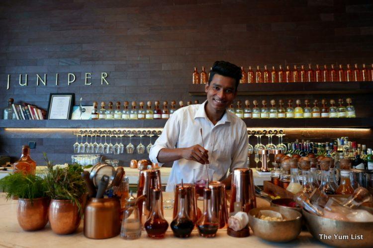 Bartender, Juniper Bar, Andaz Delhi