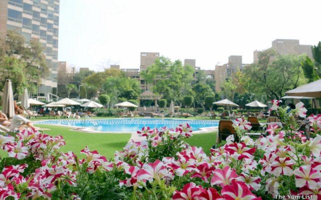 Poolside, Hyatt Regency Delhi