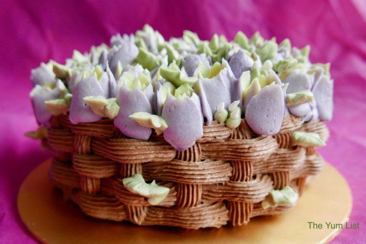 Blooming Basket Raw Chocolate Cake - Freaking Wholesome
