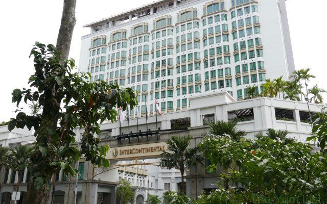 Facade of InterContinental Singapore