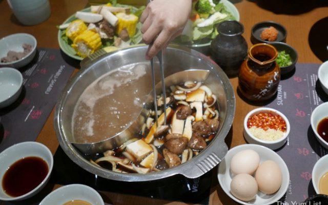 Sukiyaki MoMo Paradise