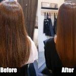 Formaldehyde-free Hair Straightening