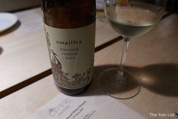 Smallfry Natural Wine, Grano Pasta Bar