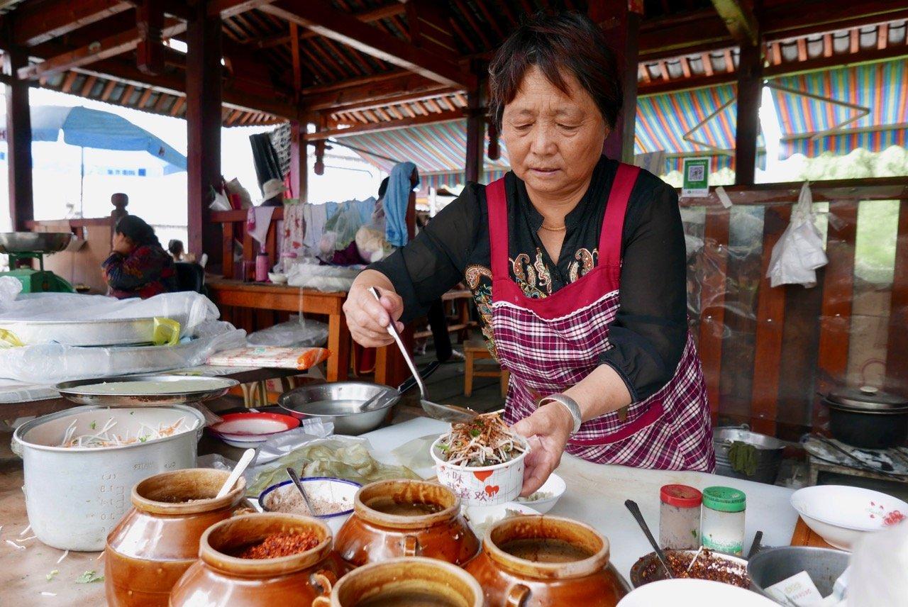 Street food snack Yunnan