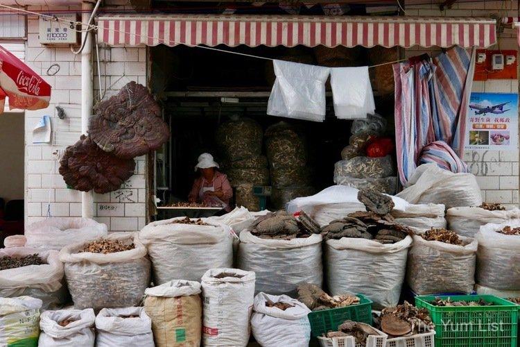 Wild Mushroom Market Kunming
