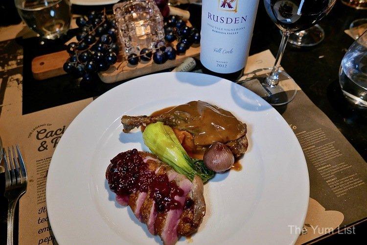 wine paired dinner KL