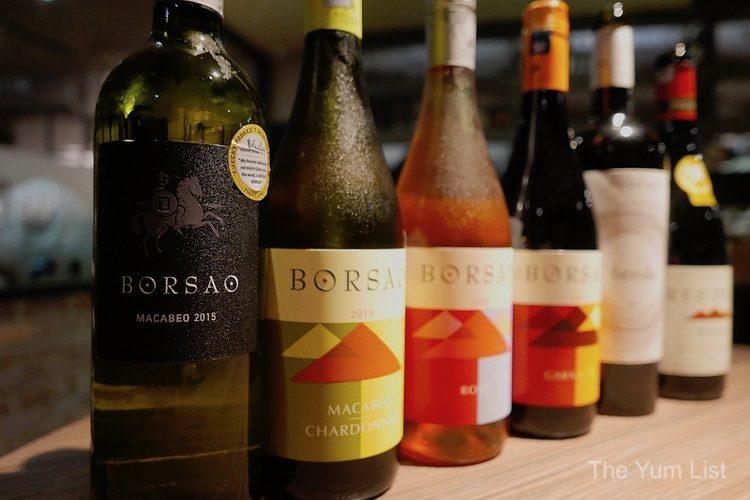 Bodegas Borsao Wines at Stoked KL