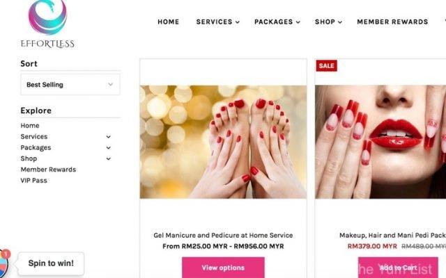 Effortless Beauty House Call Beauticians Kuala Lumpur